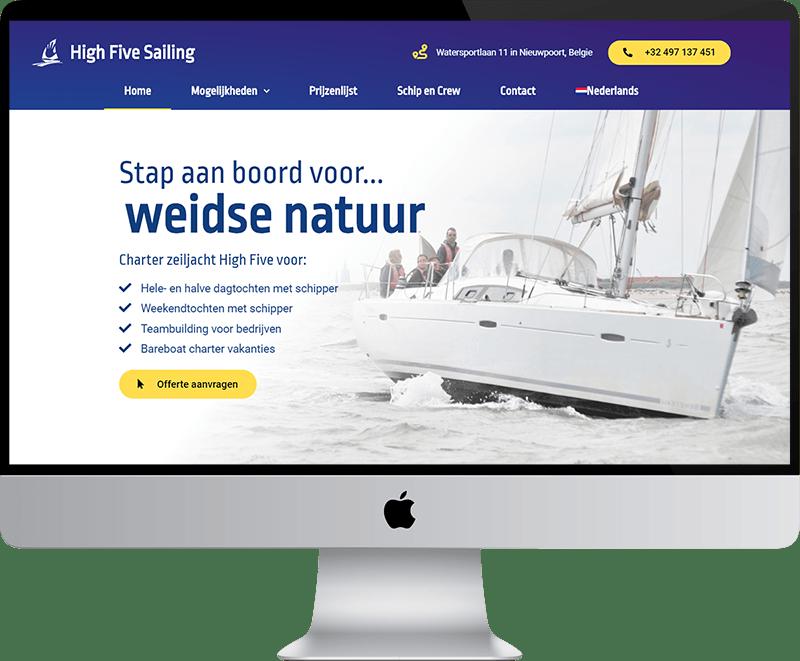 marketing voor zeilboot charter